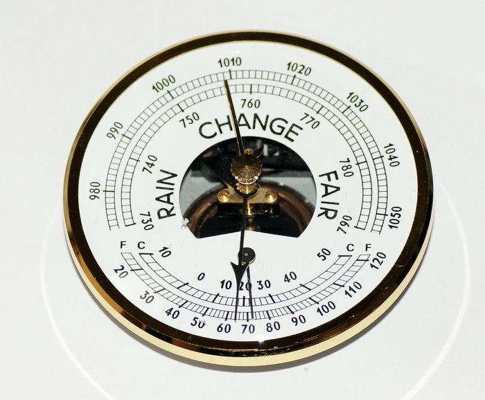 how to make a barometer at home