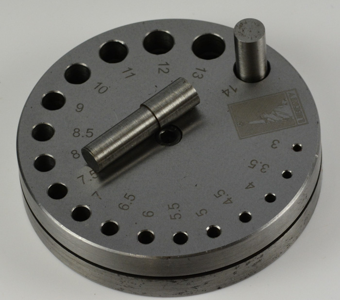 Pro Circle Punch Disc Jewellers Cutter Hole 18 Punches