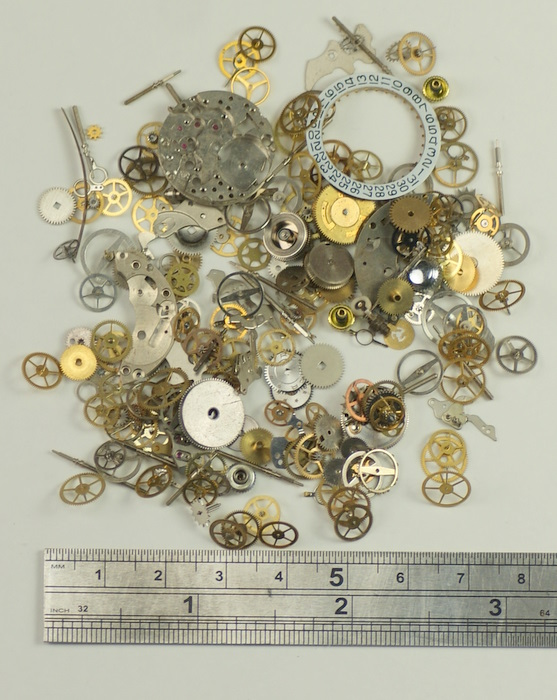 Steampunk 15g watch parts altered arts crafts project a for Steampunk arts and crafts
